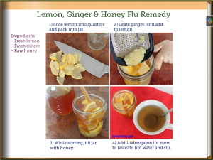 Lemon Ginger & Honey Cold Remedy